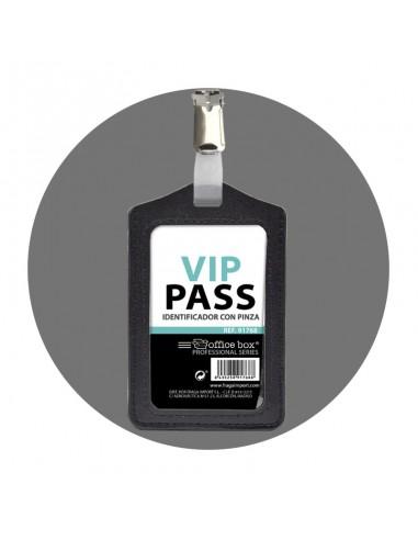 Identificador Vip Pass con Pinza