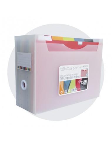 Organizador de mesa Vital Colors A4+