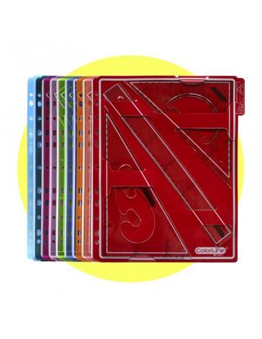 Set de Geometría Colorline