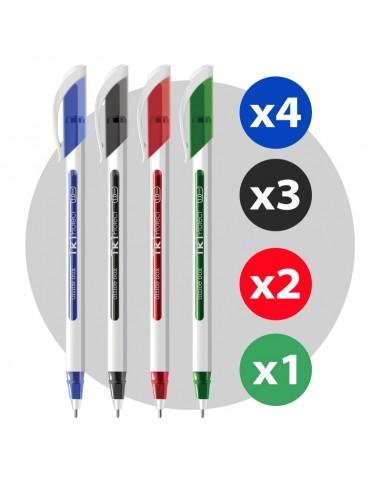 Bolígrafo TK1 Protect Pack 10 unidades
