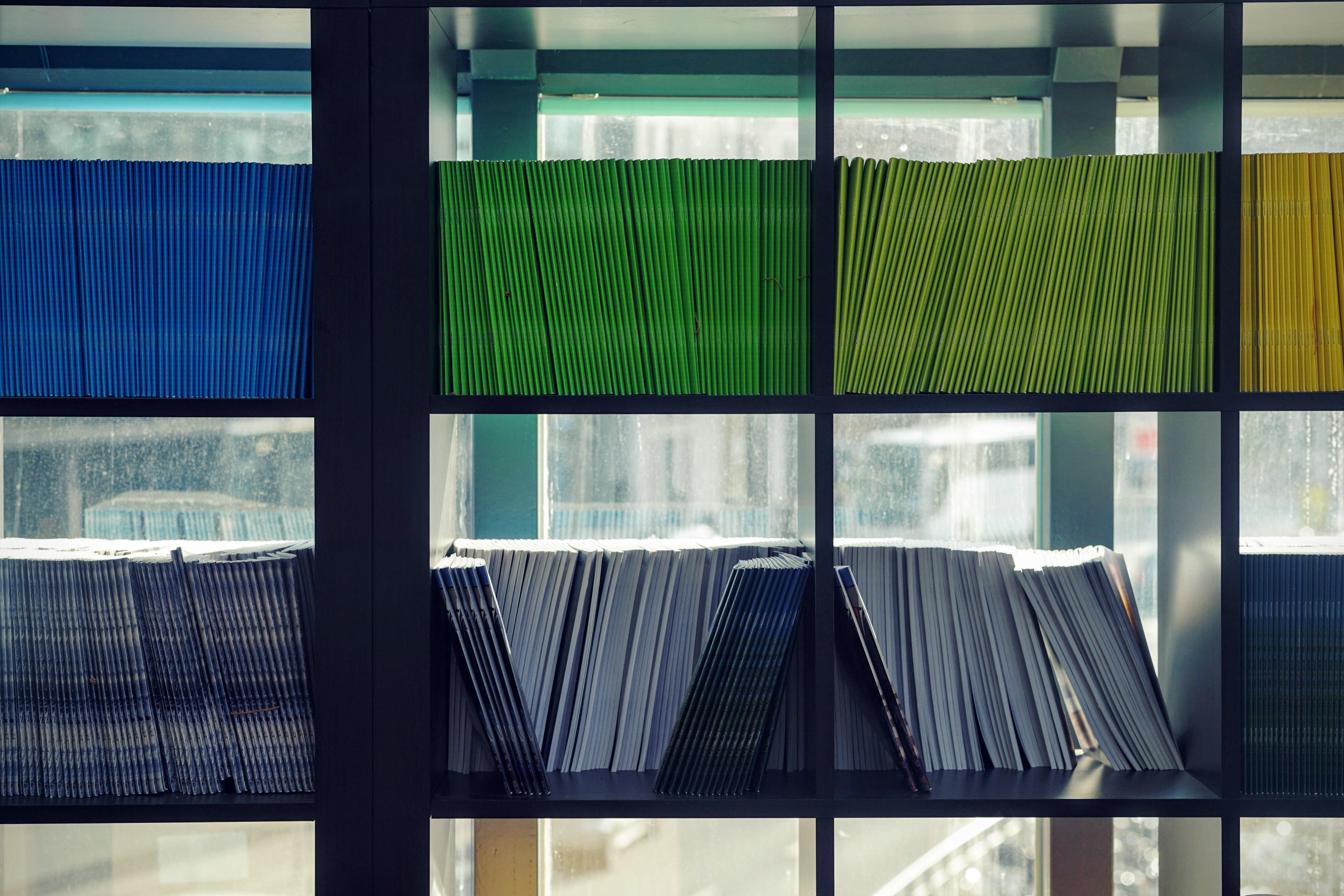 librería documentos